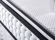 Bedroom Memory Foam Pillow Top Mattress Topper / Mattress Pad Removable